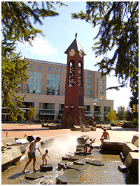 Esther Short Park in downtown Vancouver Washington (WA) near Homes For Sale